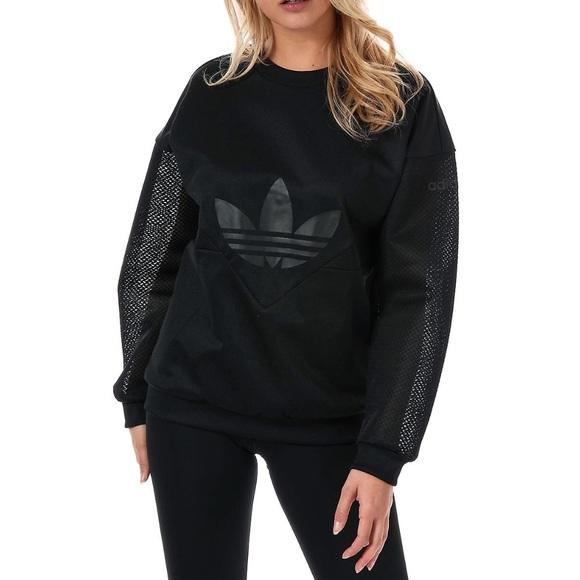 bf4c212b97 adidas Sweaters   Originals Clrdo Crew Sweatshirt In Black M   Poshmark